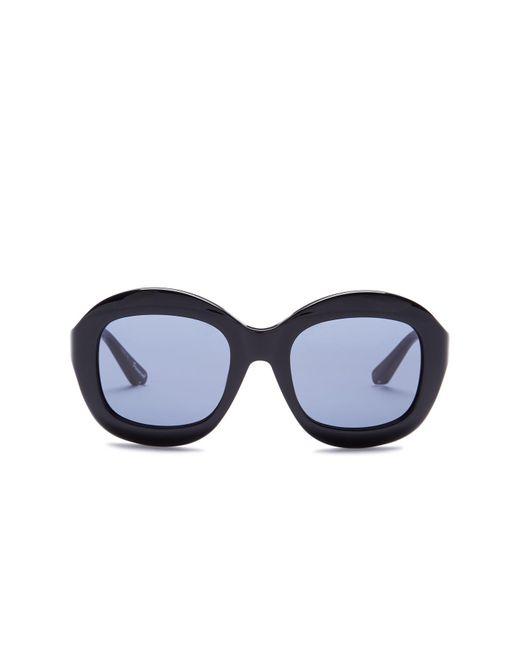 Elizabeth and James - Black Women's Beaumont Oversized Round Acetate Frame Sunglasses - Lyst