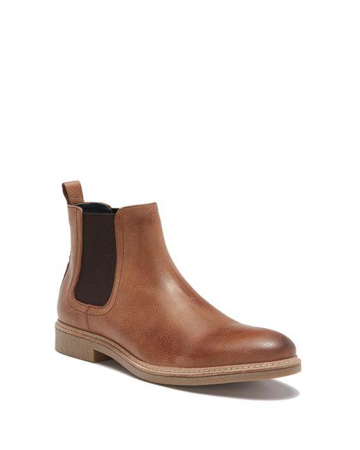Gordon Rush - Brown Clyde Nubuck Chelsea Boot for Men - Lyst