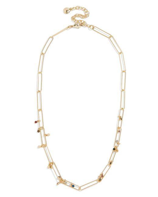 BaubleBar - Metallic Eden Statement Necklace - Lyst