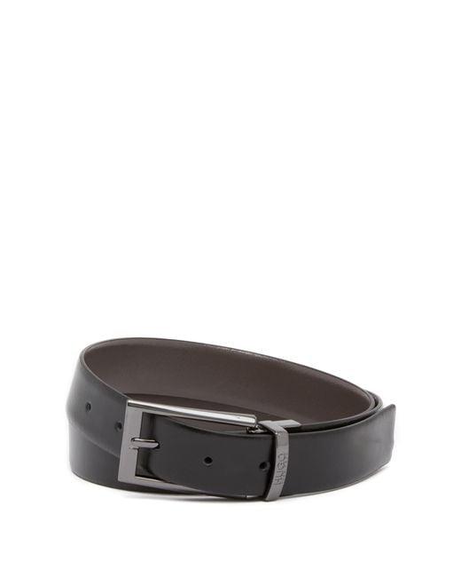BOSS - Multicolor Elvio Reversible Leather Belt for Men - Lyst