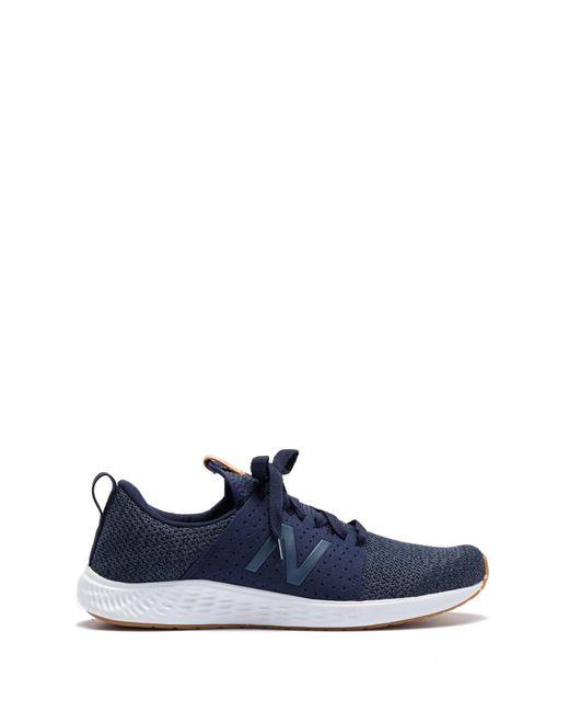124a421a10b ... New Balance - Blue Fresh Foam Sport Running Sneaker - Extra Wide Width  Available for Men ...