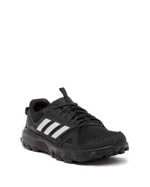 outlet store 3e95a 7bc1f Adidas - Black Rockadia Trail Running Sneaker for Men - Lyst ...