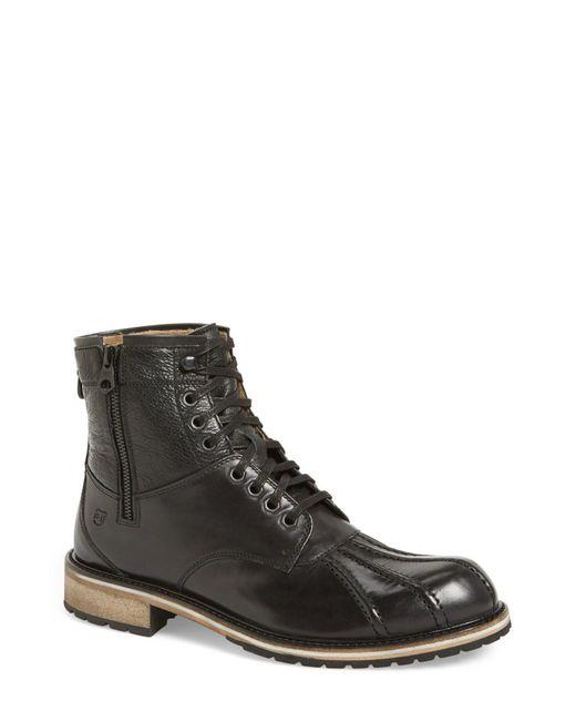 Andrew Marc - Black 'rutland' Boot (men) for Men - Lyst