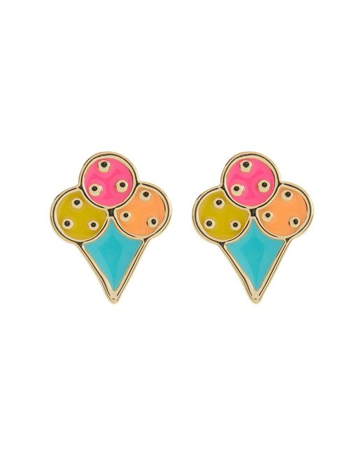 Ariella Collection | Multicolor Ice Cream Earrings | Lyst