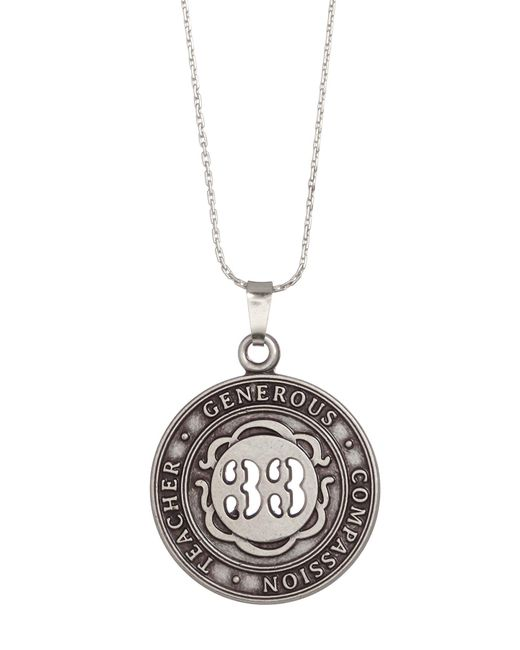 ALEX AND ANI | Metallic Numerology Number 33 Charm Adjustable Necklace | Lyst
