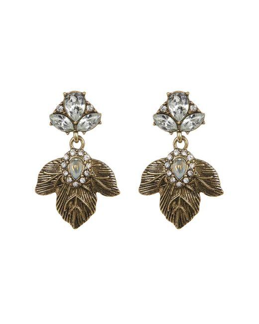 BaubleBar | Metallic Ivy Drop Earrings | Lyst