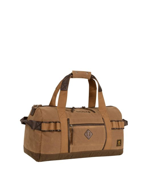 8873a7ca26 Timberland - Brown Madison Duffel Bag for Men - Lyst ...