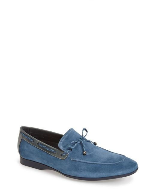 Mezlan | Blue 'campin' Loafer for Men | Lyst