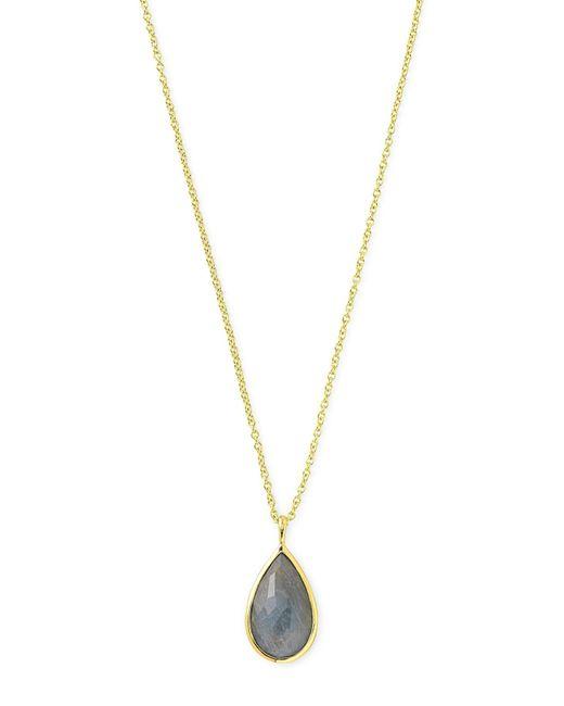 Ippolita - Metallic 18k Rock Candy® Teardrop Pendant Necklace - Lyst