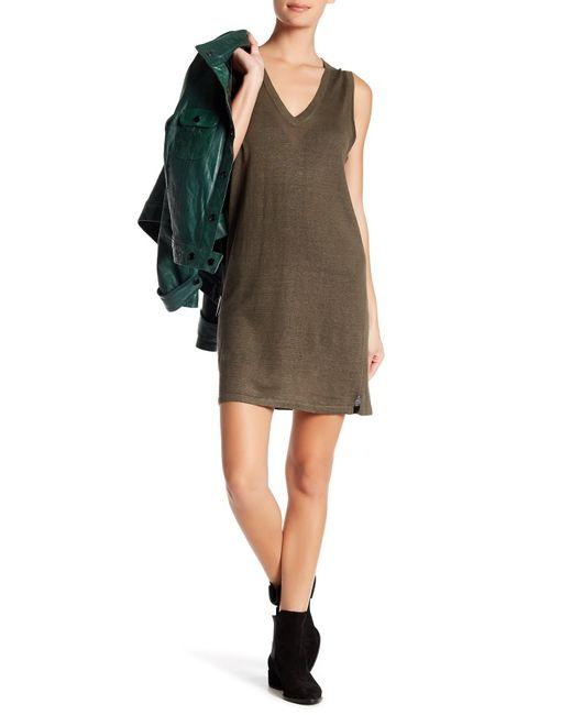 360cashmere - Green Chanda Linen Dress - Lyst