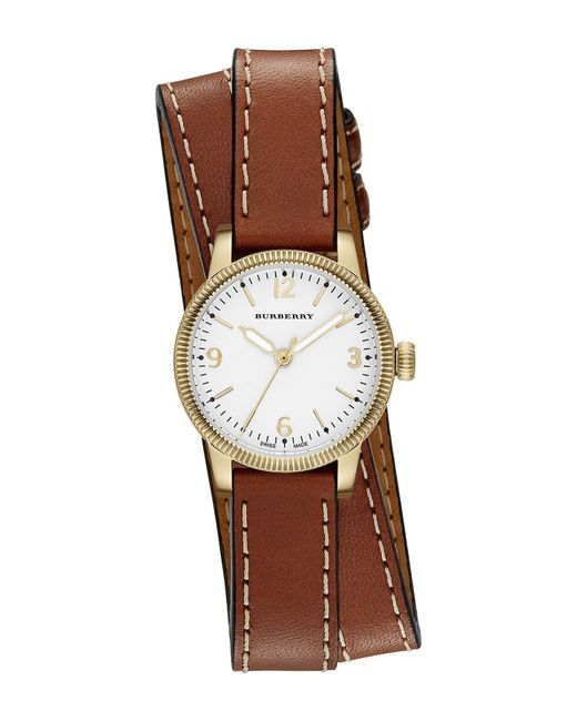 Burberry - Multicolor Women's Double Wrap Band Watch - Lyst