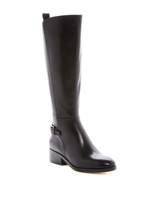 Cole Haan | Black Hayes Tall Boot - Extended Calf | Lyst