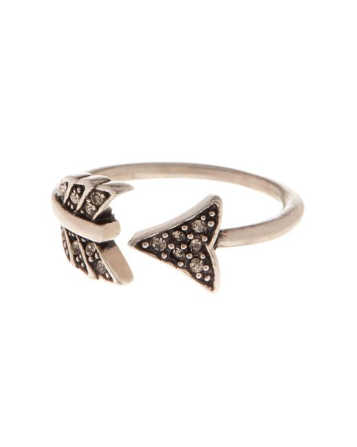 House of Harlow 1960 | Metallic Arrow Affair Ring | Lyst