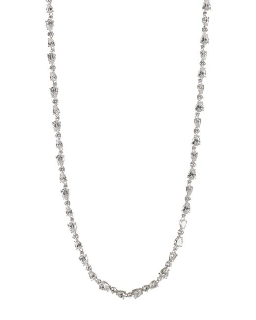 Nadri - Metallic Ava Multi-cut Cz Necklace - Lyst