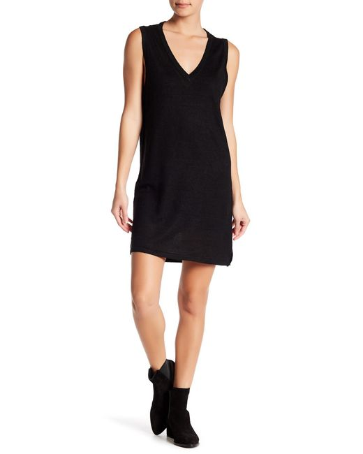 360cashmere - Black Chanda Linen Dress - Lyst