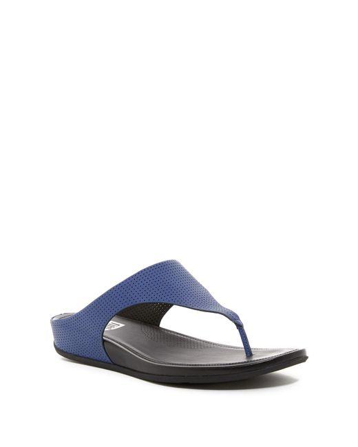 Fitflop - Blue Banda Thong Sandal - Lyst