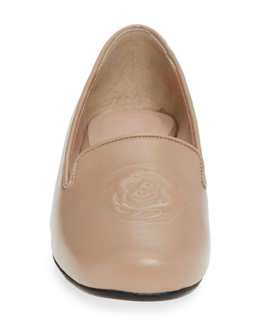 aab3b54189bc Lyst - Taryn Rose Belissa Slip-on Flat (women) in Natural - Save ...