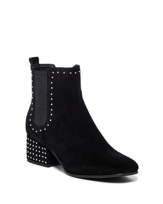 Marc Fisher - Black Tango Studded Chelsea Boot - Lyst