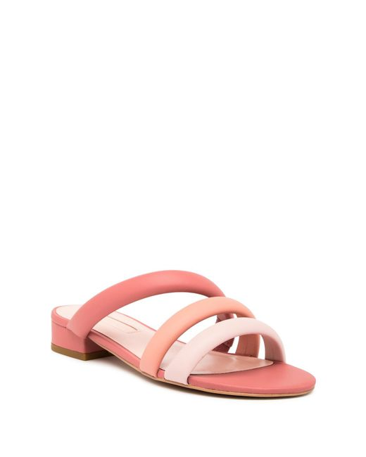 Avec Les Filles - Pink Carla Slide Sandal - Lyst