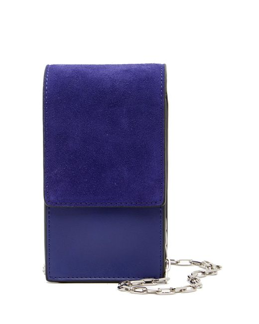 French Connection   Blue Charlotte North/south Mini Crossbody Bag   Lyst