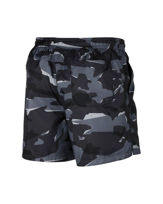 5ab6450738 ... Nike - Gray Camo Print Shorts for Men - Lyst