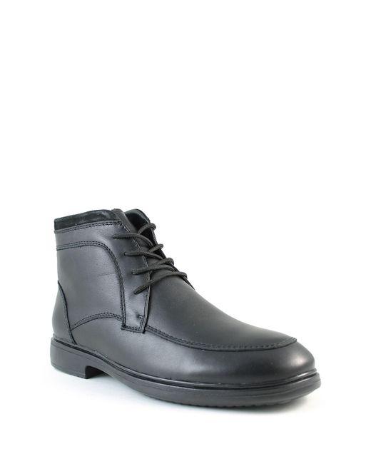 Santana Canada | Black Fugati Waterproof Leather Faux Fur Lined Boot for Men | Lyst