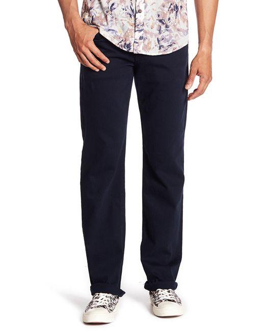 7 For All Mankind - Blue Carsen Straight Leg Jeans for Men - Lyst