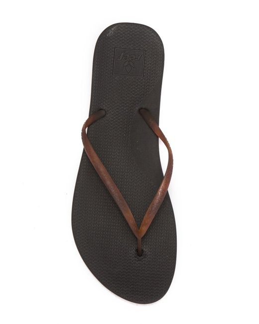554971bfc9a01 ... Reef - Black Escape Lux Tort Sandal (women) - Lyst ...