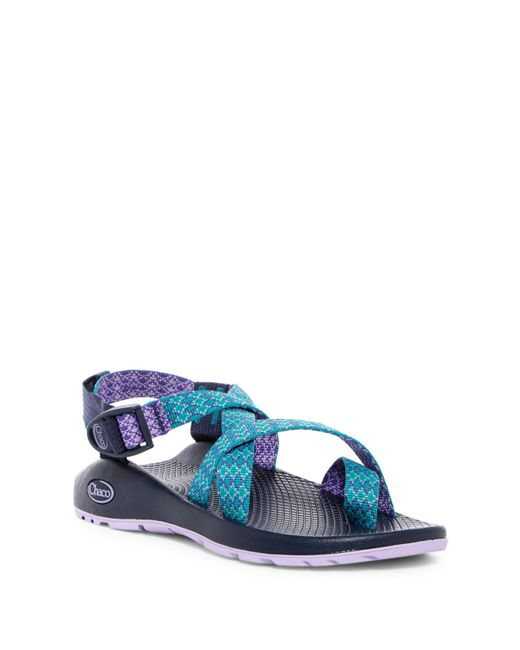 Chaco - Blue Z2 Classic Strappy Sandal - Lyst