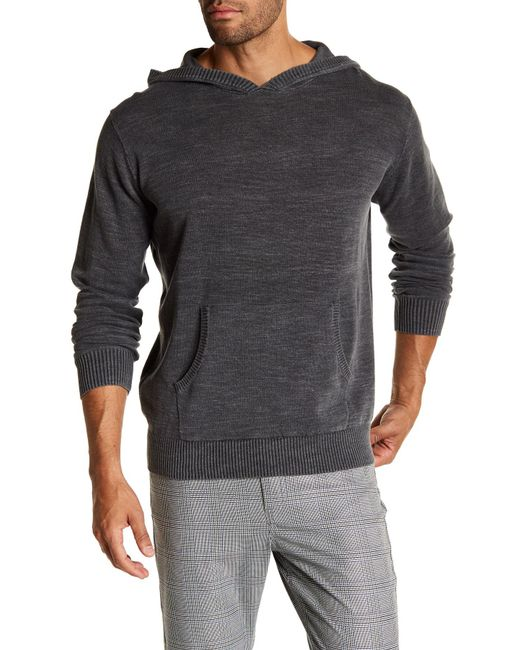 Weatherproof | Gray Jersey Hoodie Sweater for Men | Lyst