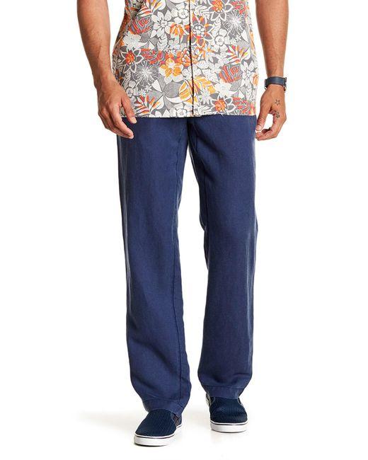 Tommy Bahama - Blue Linen The Dream Pants for Men - Lyst