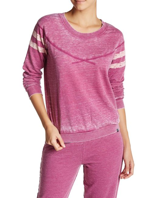 Honeydew Intimates | Pink Long Sleeve Sweatshirt | Lyst