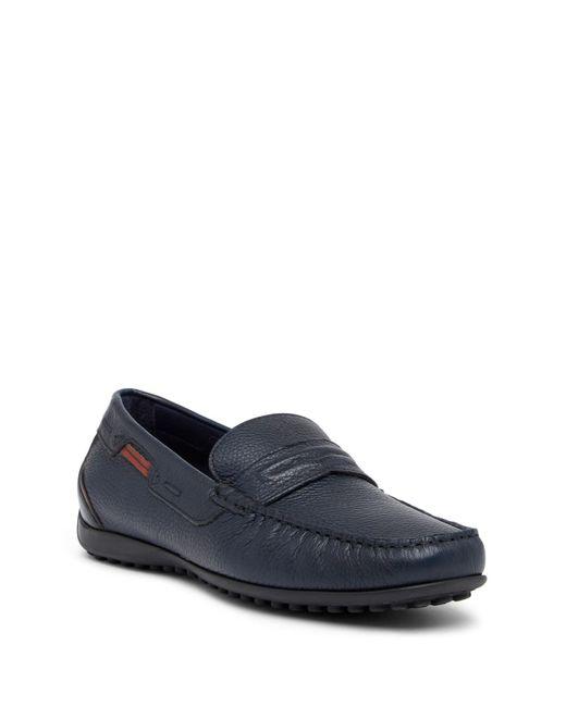 Bacco Bucci - Blue Berra Leather Loafer for Men - Lyst
