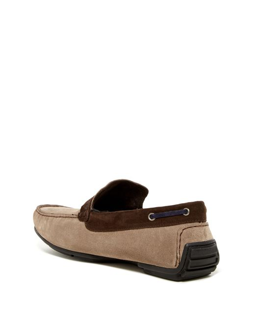 Bacco Bucci Bmacl Leather Mens Drivibg Shoes