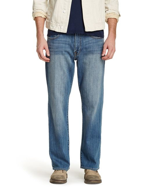 "Lucky Brand | Blue 361 Vintage Straight Jean - 30-36"" Inseam for Men 