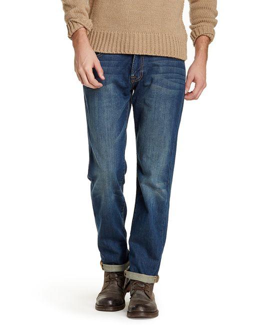 "Lucky Brand | Blue 221 Original Straight Leg Jean - 30-32"" Inseam for Men | Lyst"