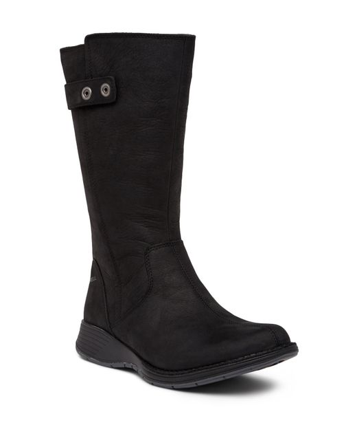 Merrell - Black Travvy Waterproof Tall Zip Boot - Lyst