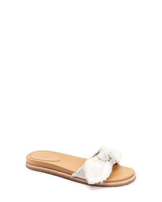 Bill Blass - White Carmela Slide Sandal (women) - Lyst