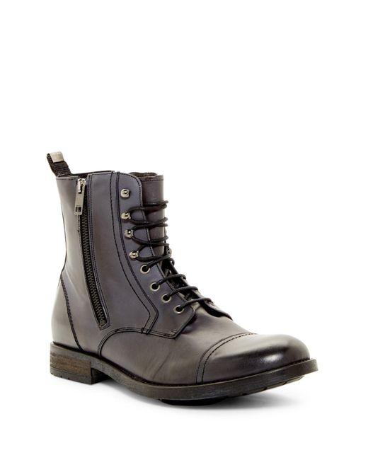 DIESEL | Black Serberhus D-kallien Cap Toe Boot for Men | Lyst