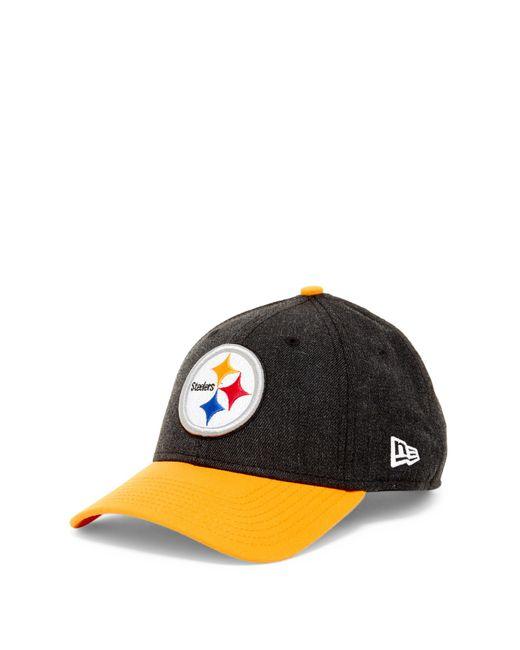 Ktz Nfl Pittsburgh Steelers Heathered Twill Football Cap