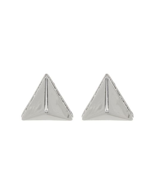 Vince Camuto - Metallic Crystal Accent Base Pyramid Stud Earrings - Lyst