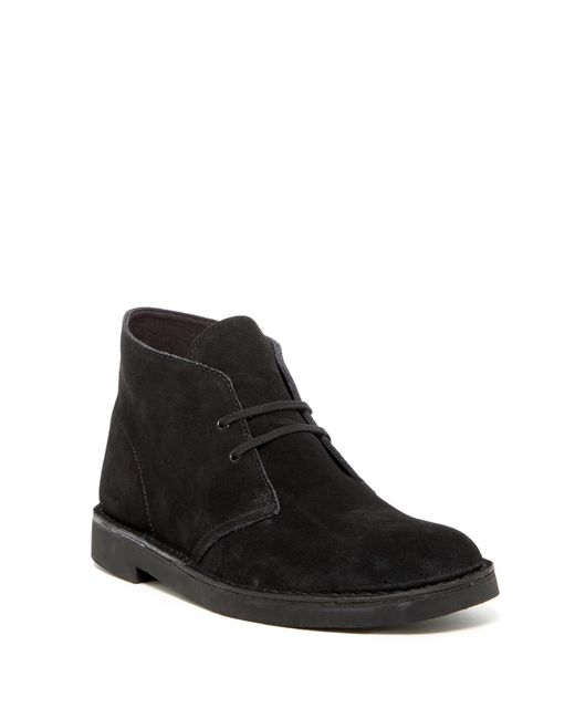 Clarks | Black Desert Suede Chukka Boots for Men | Lyst