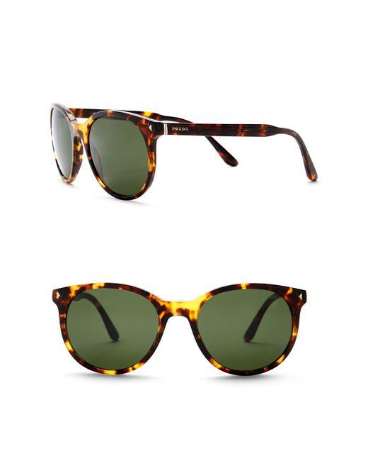 Prada - Green Women's Phantos Conceptual 53mm Sunglasses - Lyst