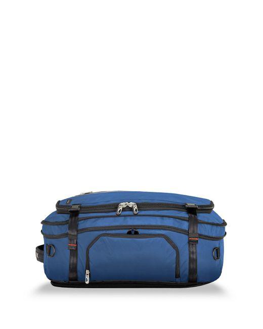 Briggs & Riley - Blue Exchange Medium Convertible Duffel Bag for Men - Lyst