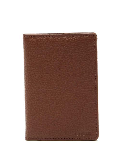 Lodis | Brown Logan Leather Passport & Usb Key Fob Set | Lyst