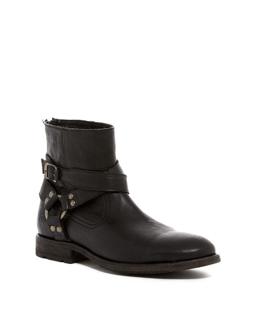 Frye | Black Ethan Harness Boot for Men | Lyst