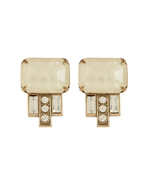 Loren Hope | White Alex Indicolite Stud Earrings | Lyst