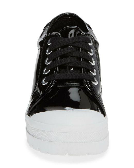 da9dac58fe1 Lyst - Jeffrey Campbell Award Platform Sneaker in Black - Save 62%