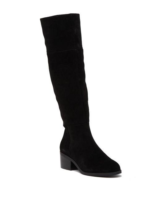 Women\u0027s Black Gauge To,the,knee Boot