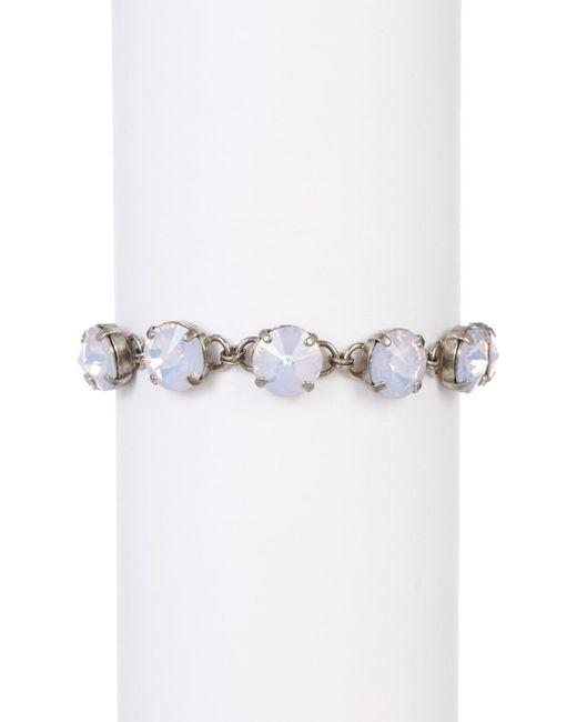Sorrelli | Metallic Simply Sophisticated Opalescent Crystal Bracelet | Lyst
